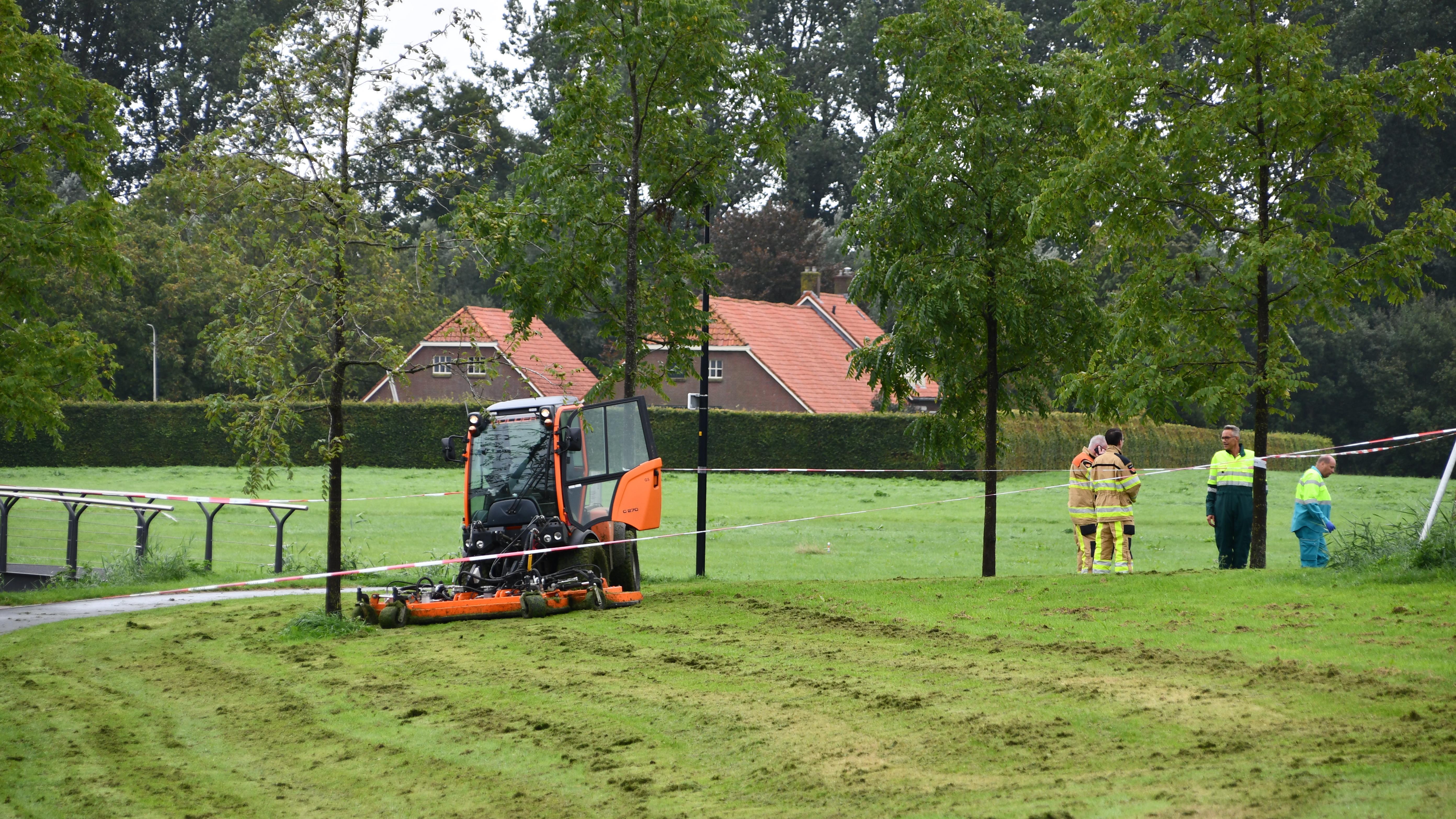 Meisje overleden aan verwondingen na ongeluk met grasmaaier in Kampen.