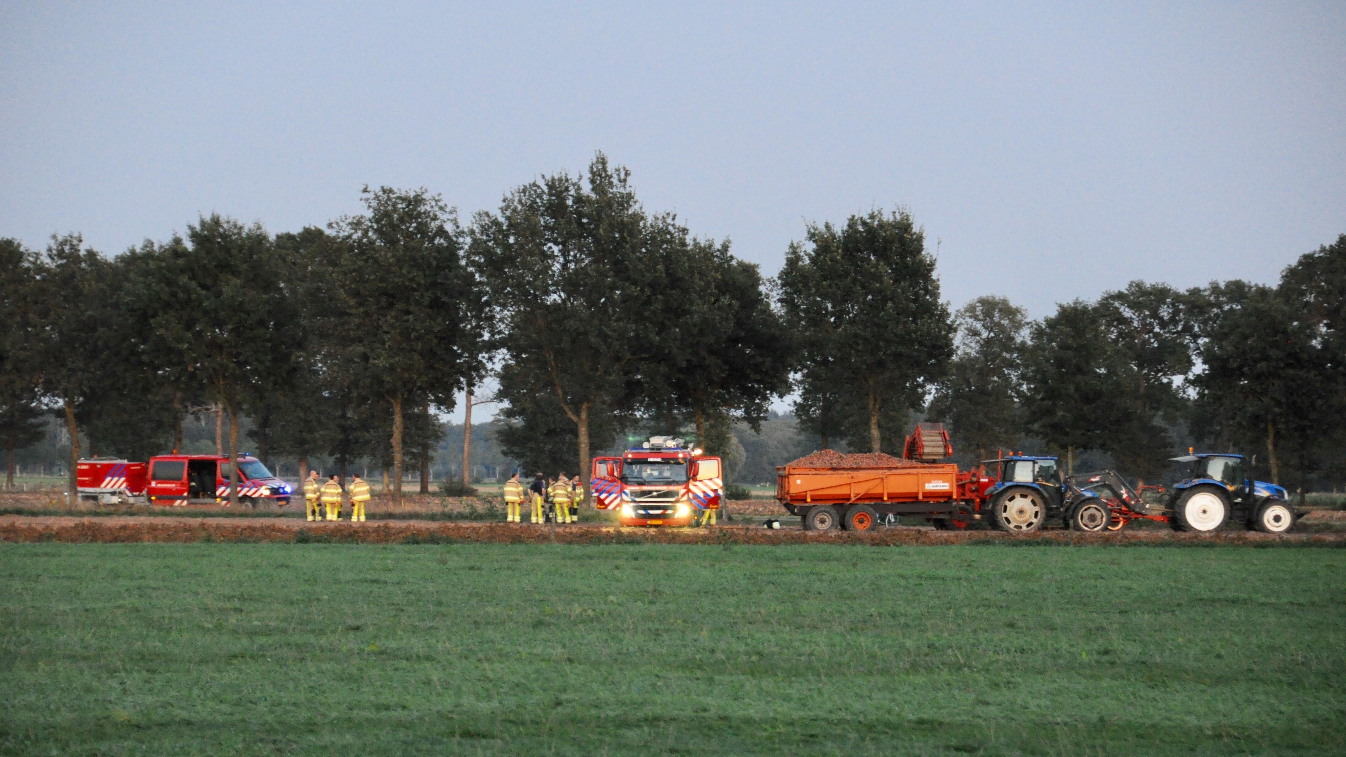 Gewonde bij ongeluk met landbouwvoertuig in Wijhe.