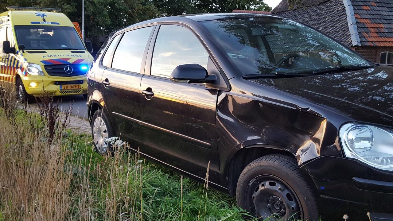 Motorrijder gewond na aanrijding met auto in Markelo.