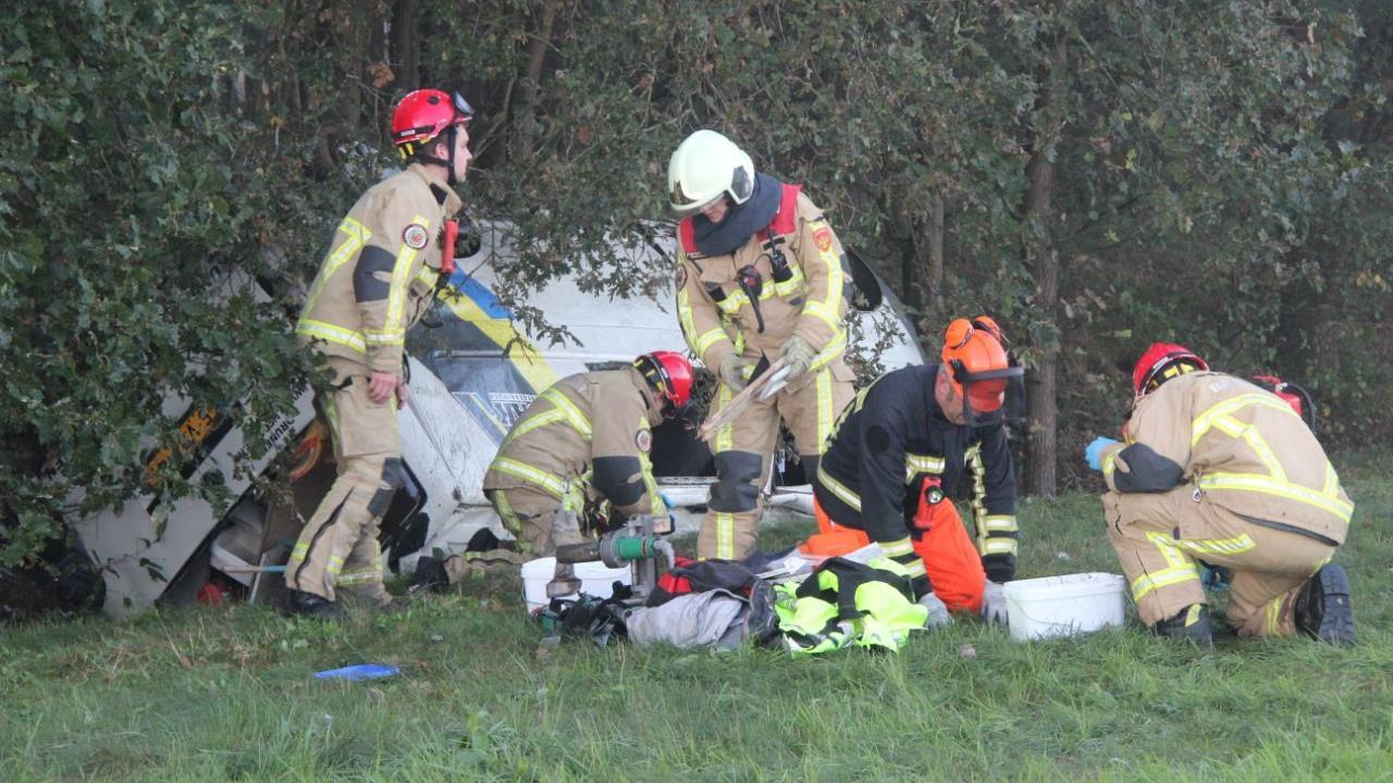 Drie gewonden bij ernstig ongeval op de A1 bij Rijssen.