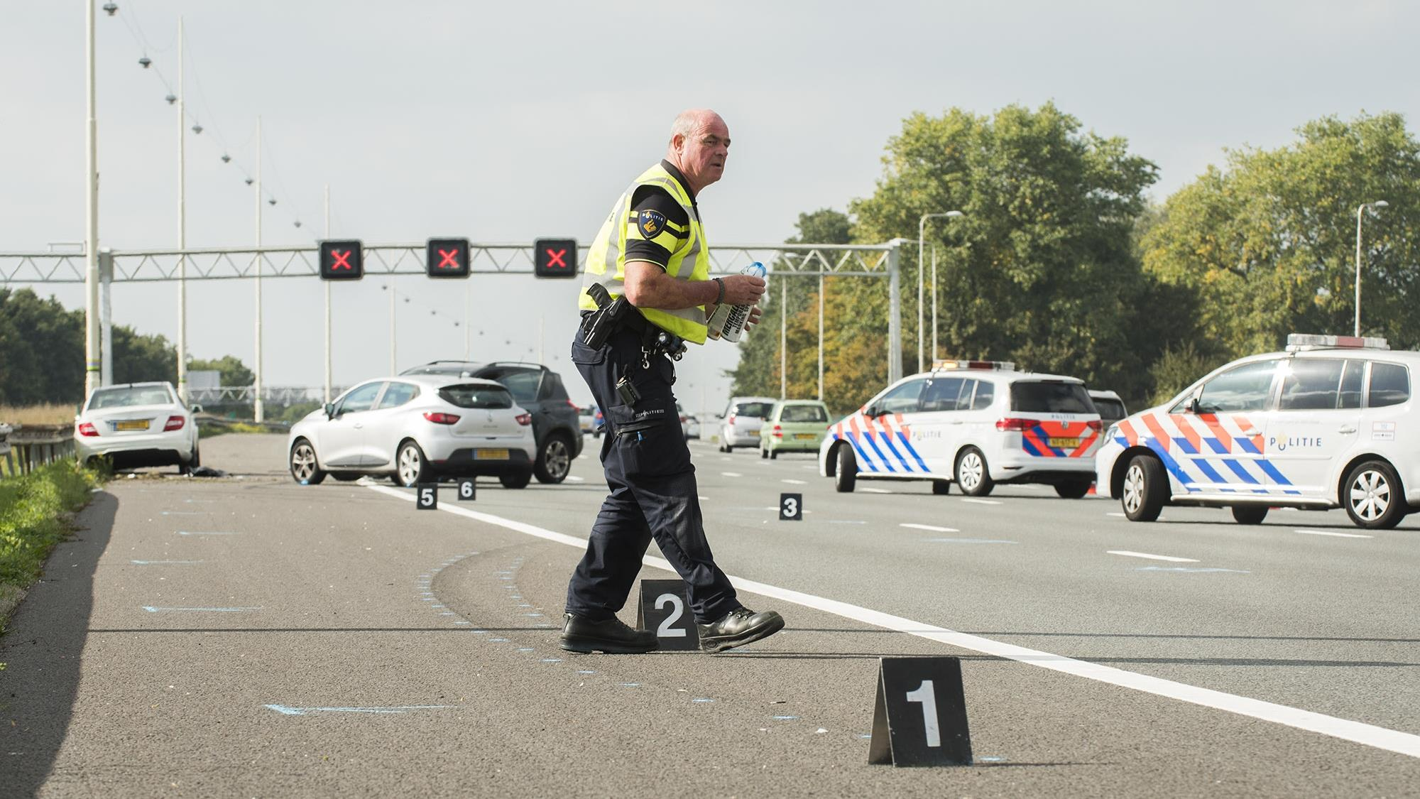 Man uit Kampen raakt ernstig gewond bij ongeval bij Woerden.