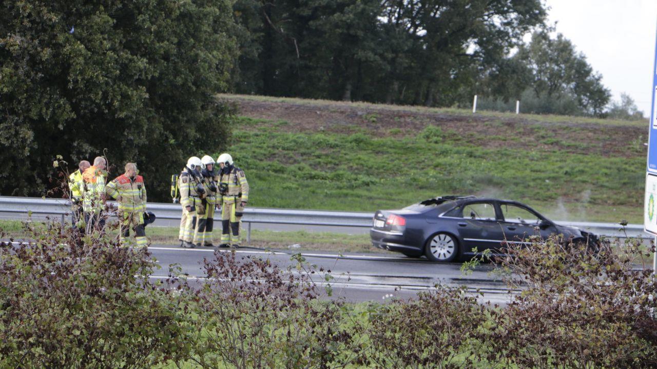 Hectische avondspits door ongelukken op A1 en A35.