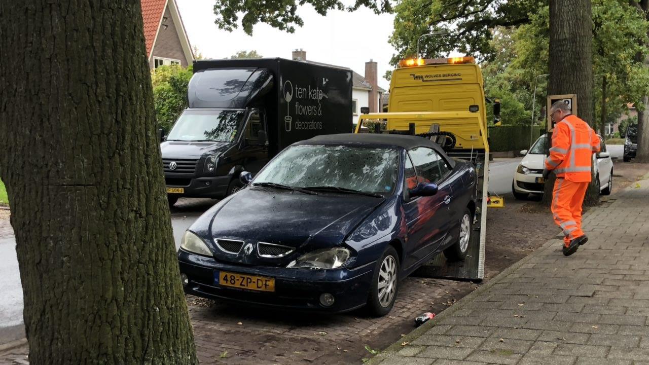 Auto die zaterdag doorreed bij ongeluk Deventer blijkt gestolen.