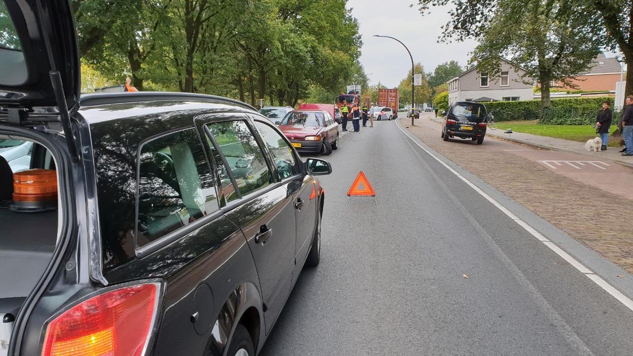 Automobilist met rijverbod veroorzaakt aanrijding in Hengelo.
