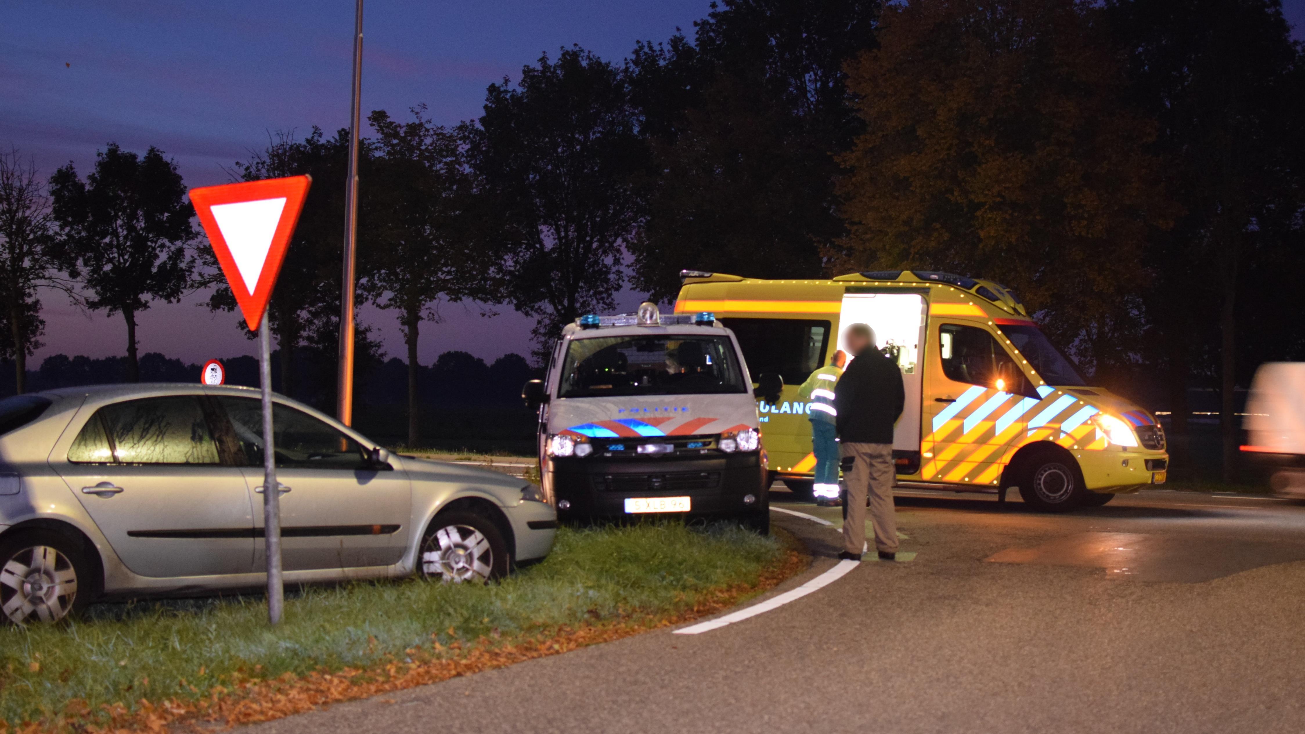 Motorrijder gewond na aanrijding op N343 bij Collendoorn.