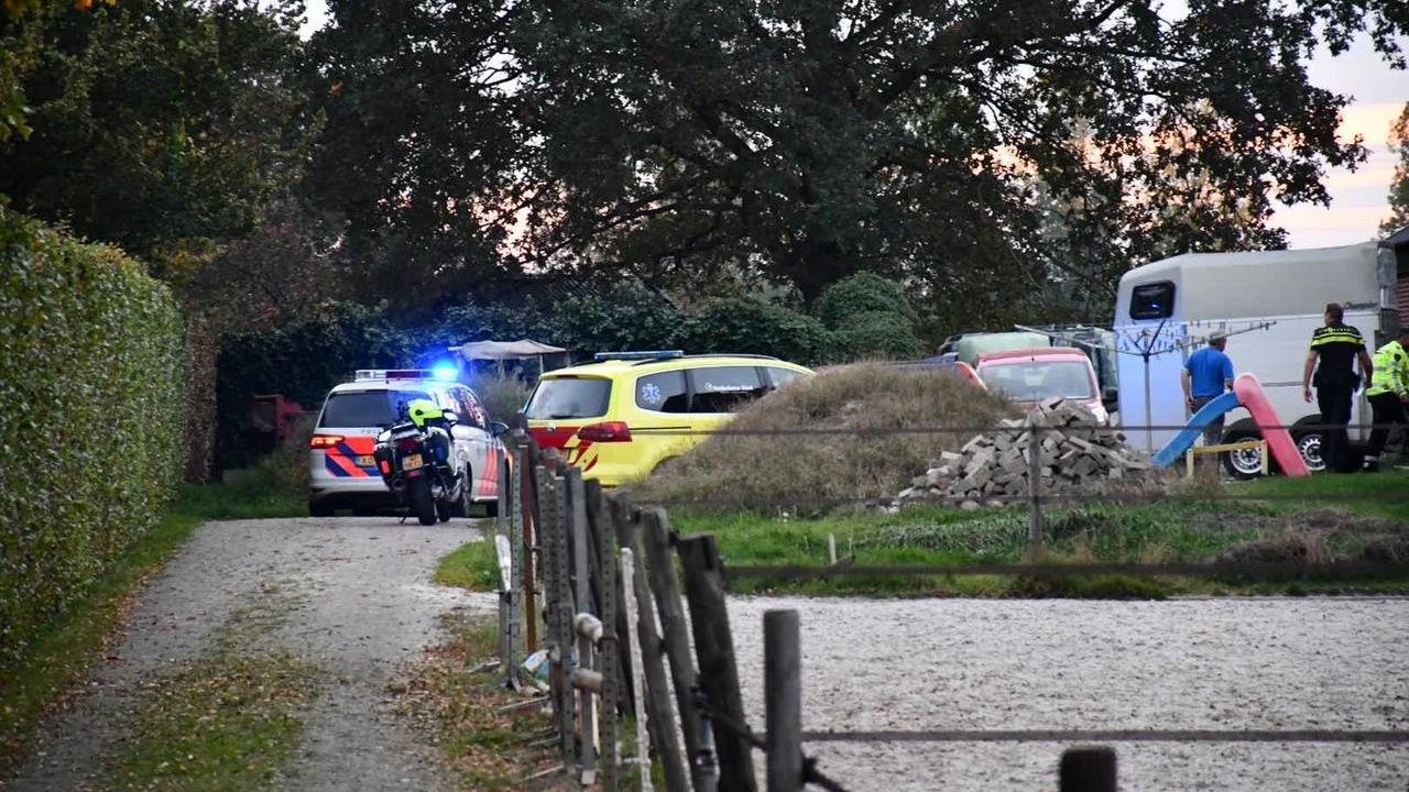 Kind zwaar gewond bij ongeval in Daarlerveen.
