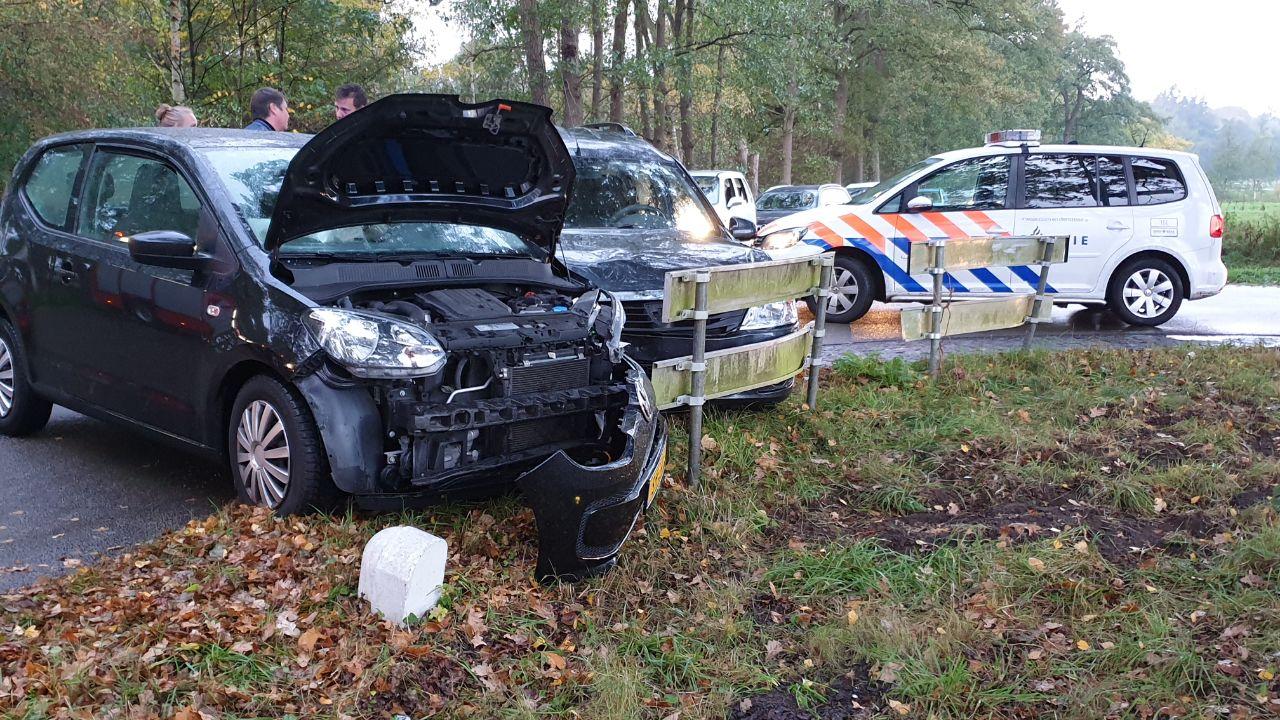 Vrouw gewond bij aanrijding in Enschede.