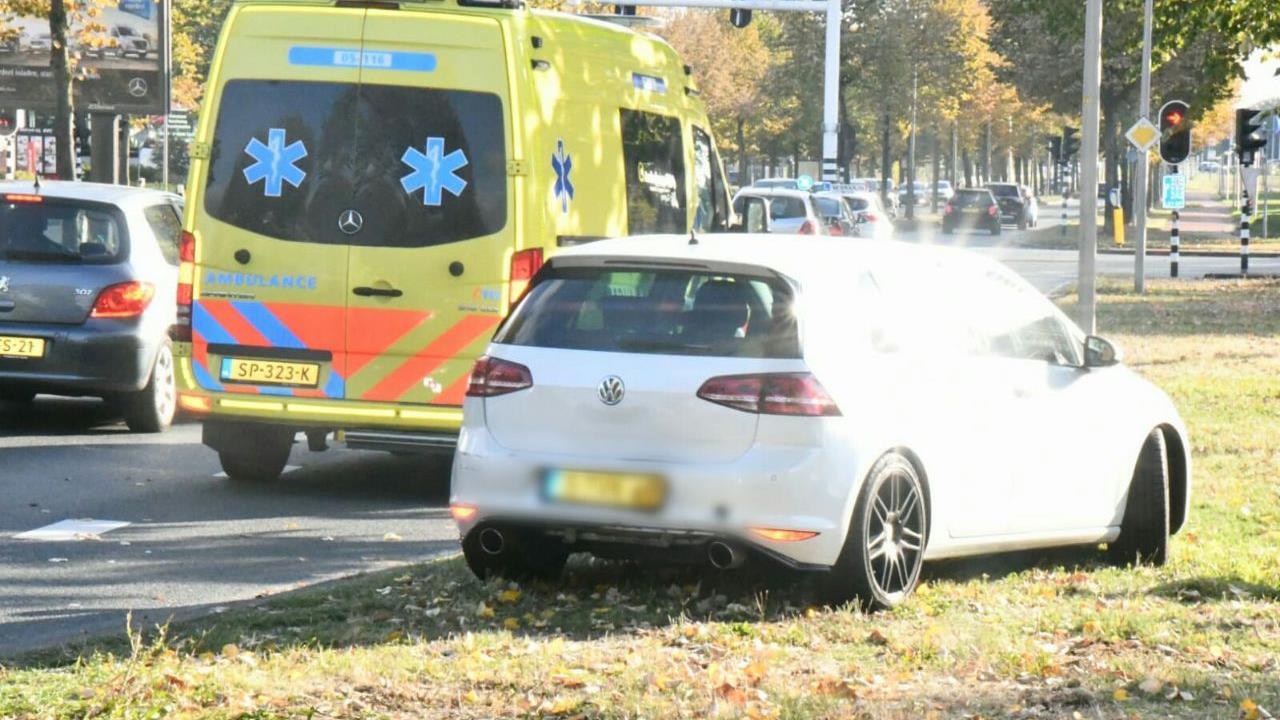 Verkeersoverlast in Enschede door ongeluk.