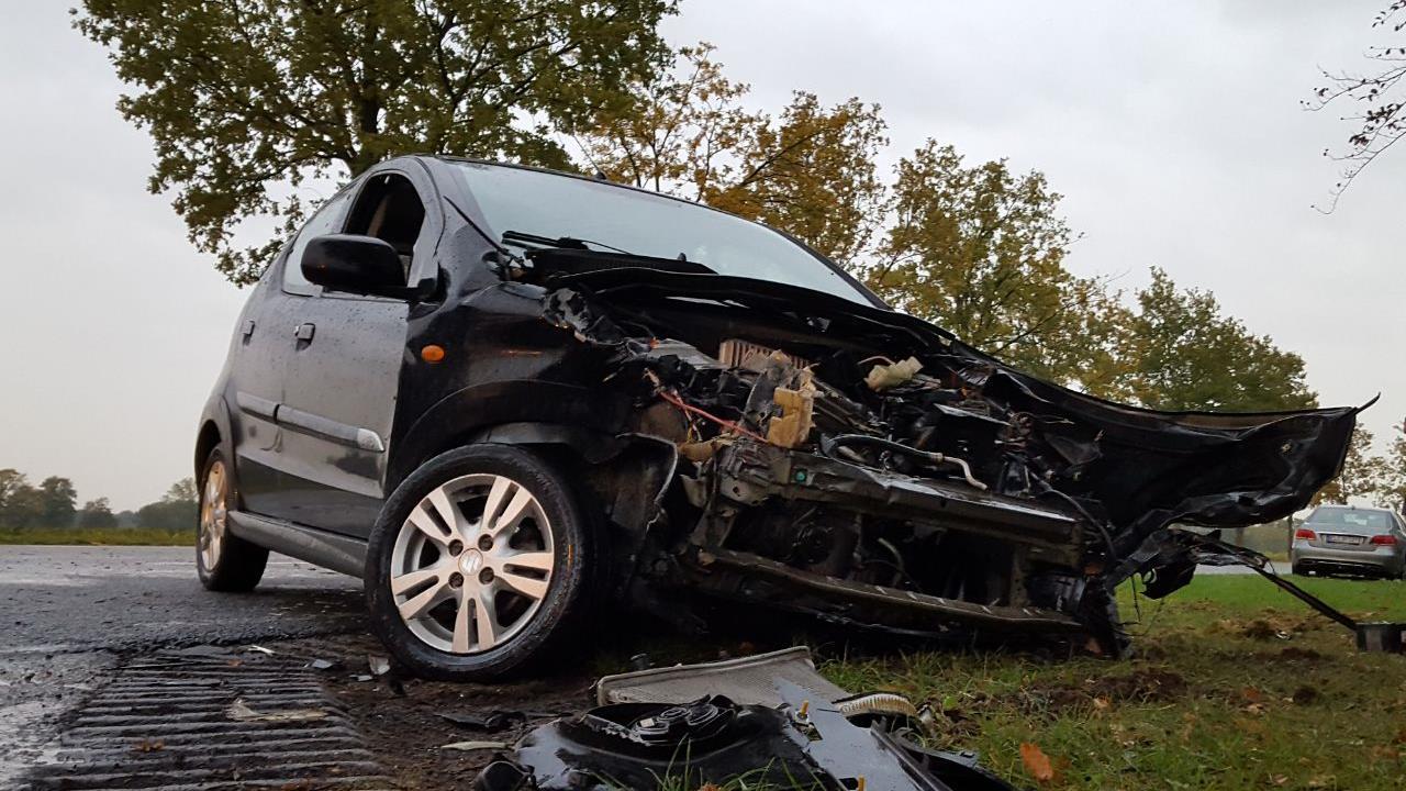 Gewonde na ongeval op kruising in Diepenheim.