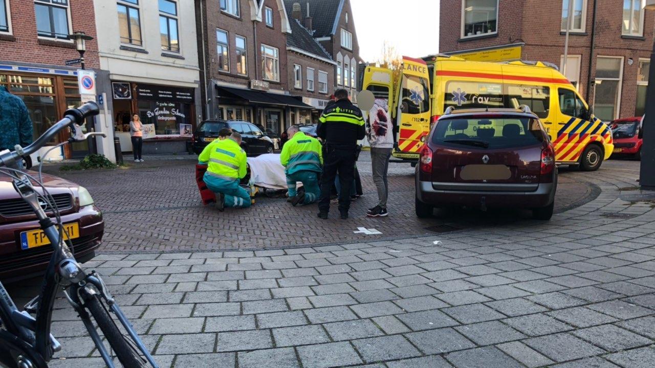 Fietser gewond bij aanrijding in Deventer.