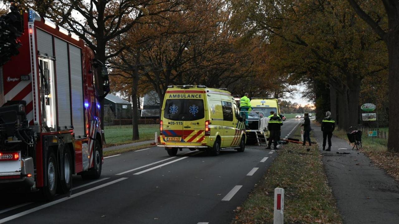 Twee gewonden bij ongeval in Enschede.
