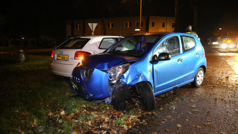 Eén gewonde bij ongeval in Aadorp.