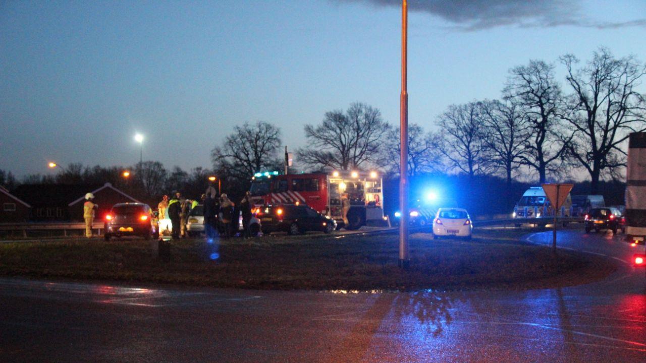 Ongeval op N35 tussen Nijverdal en Wierden: file is opgelost.