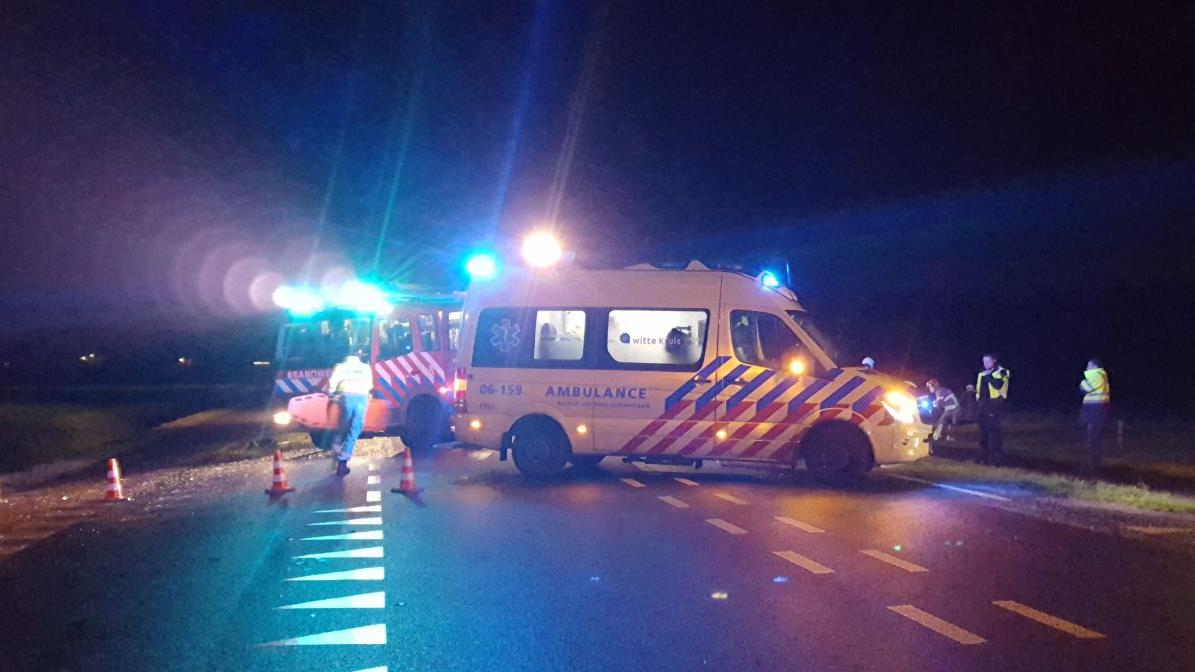 N346 tussen Markelo en Lochem dicht na ongeluk.