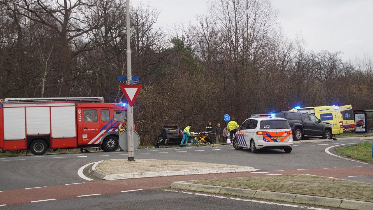 Zeker twee gewonden bij ongeval N739 bij Beckum.