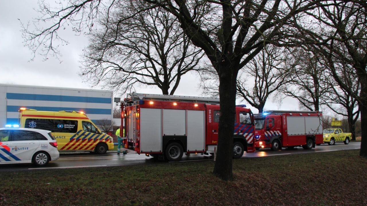N35 tussen Heino en Raalte enige tijd afgesloten na ongeval.