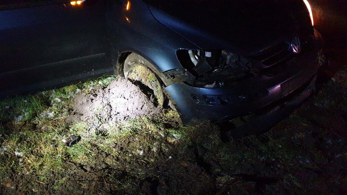 Twee gewonden bij aanrijding op de A1 bij Hengelo.