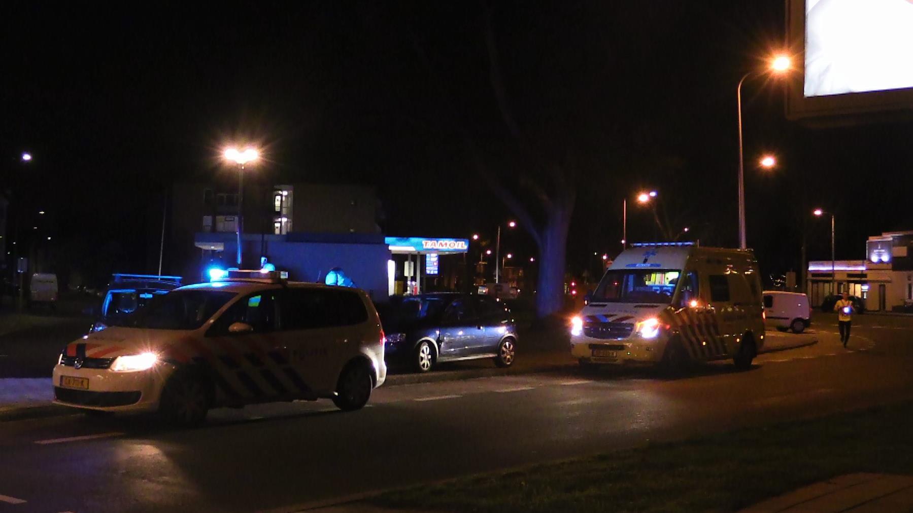 Bestuurder gewond bij aanrijding in Enschede.