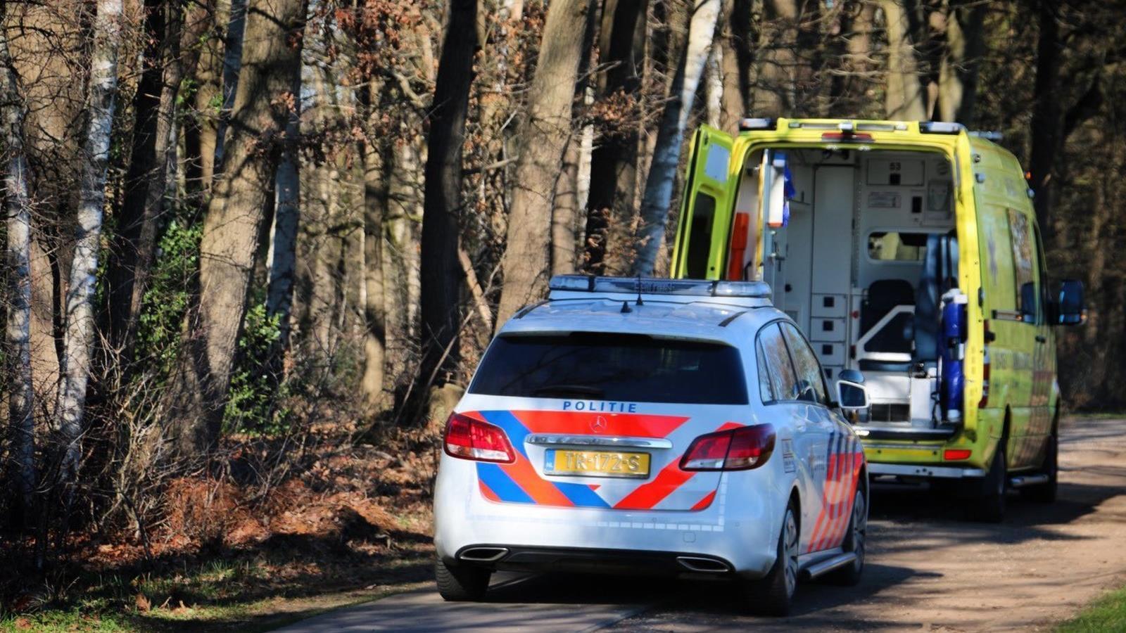 Mountainbiker gewond naar het ziekenhuis na ongeval inReutum.