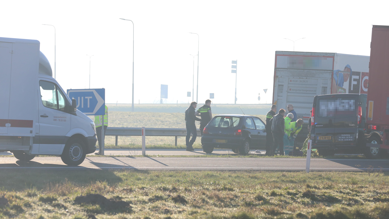 N36 dicht na ongeluk bij Vriezenveen.