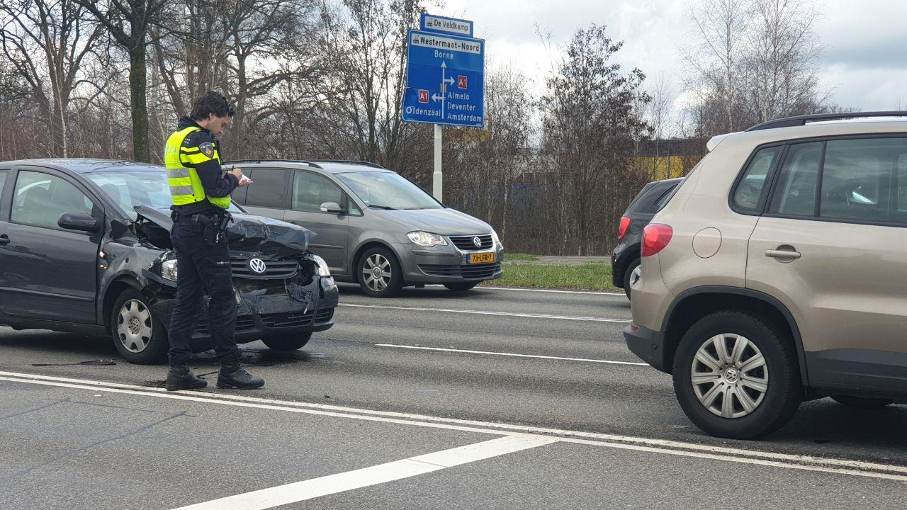 Gewonde bij ongeluk in Hengelo.