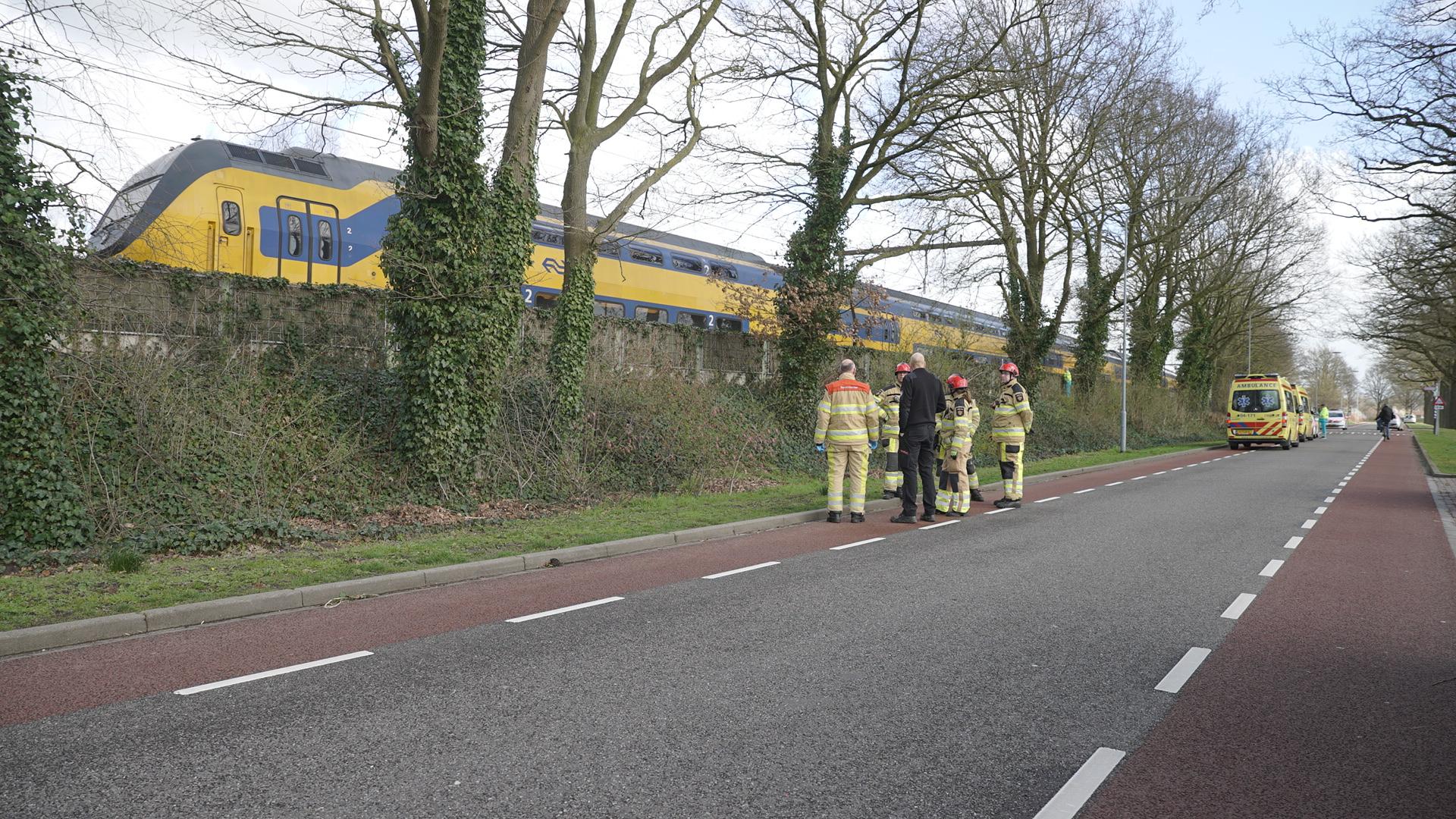 Treinverkeer tussen Apeldoorn en Deventer na aanrijding na uren weer hervat.