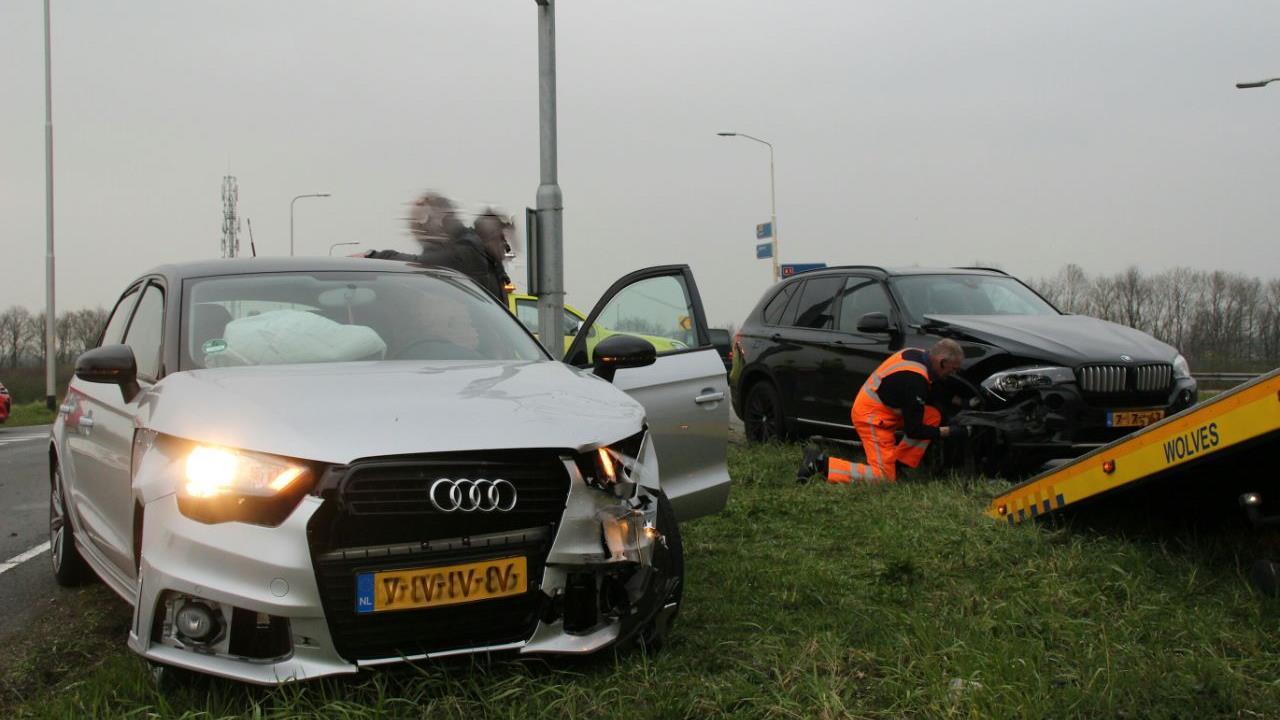 File door ongeluk bij Holten.