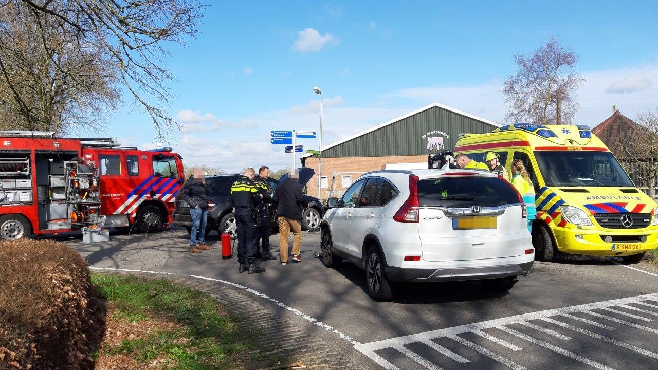 Twee gewonden bij ongeluk Dalmsholte.