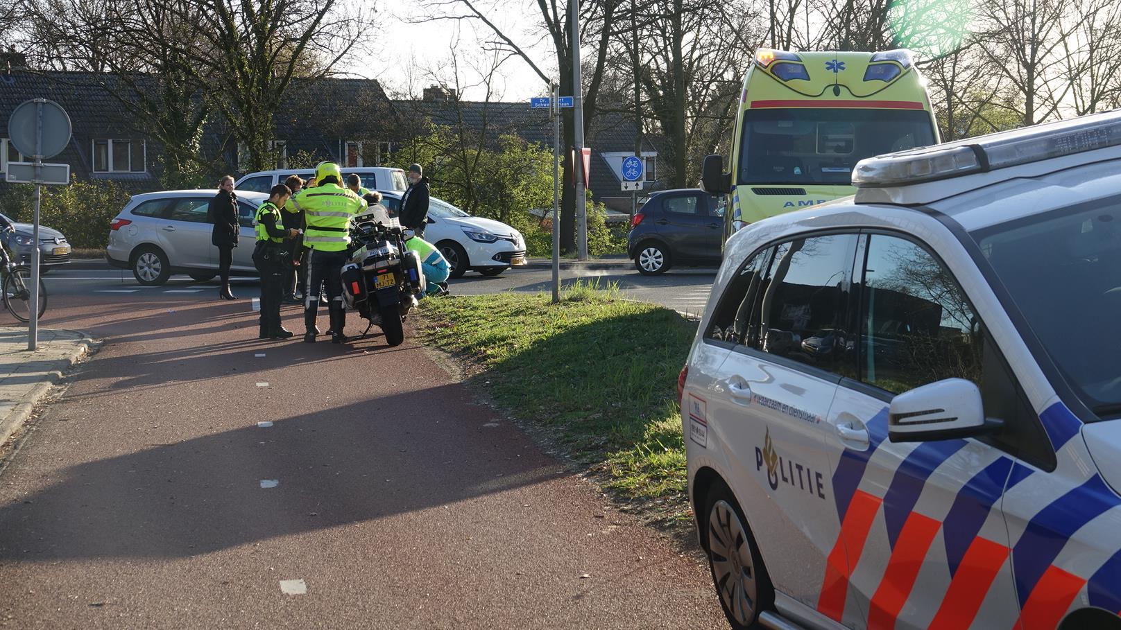 Fietsster gewond bij ongeval in Hardenberg.