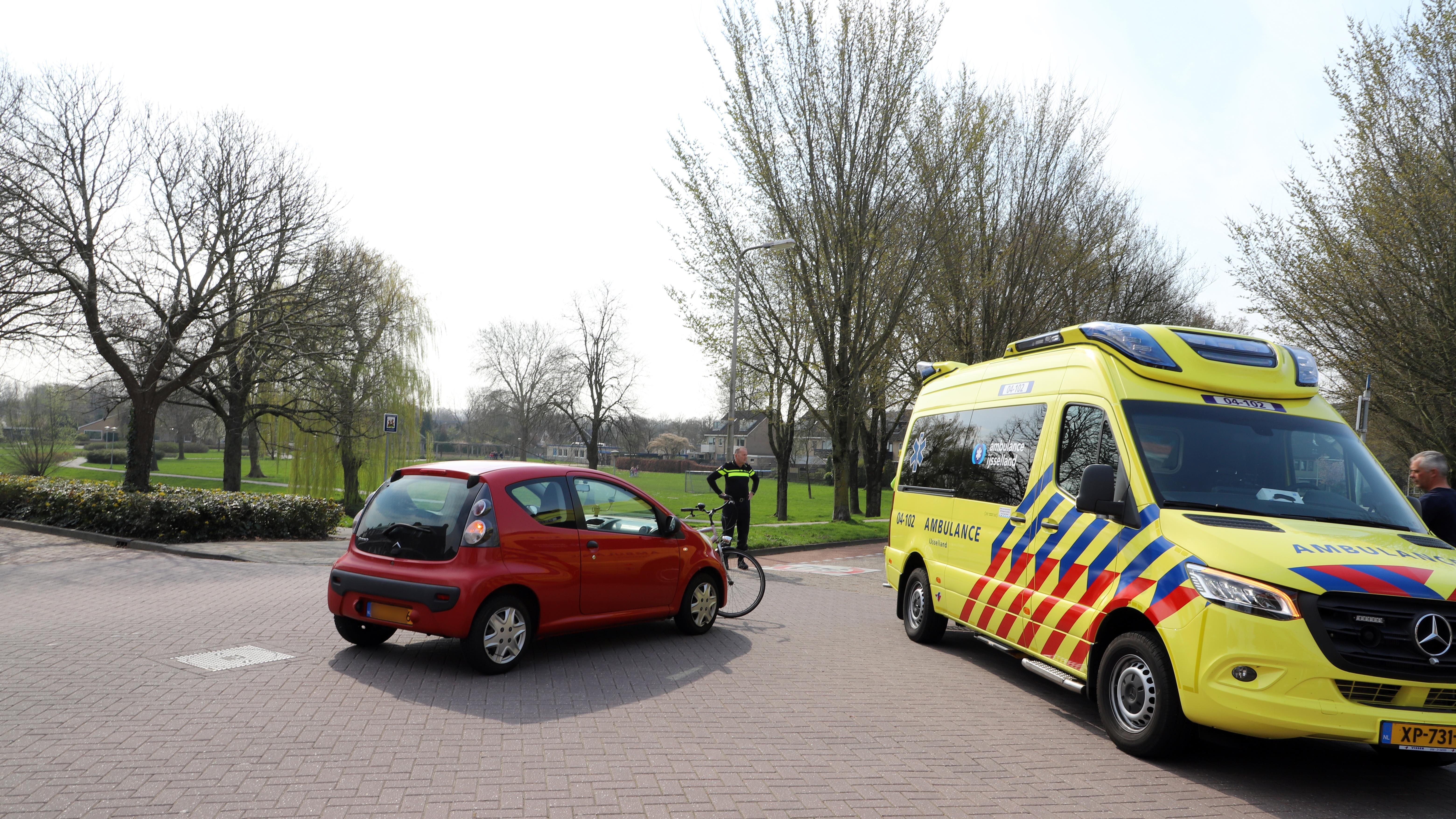 Fietser gewond bij aanrijding in Kampen.
