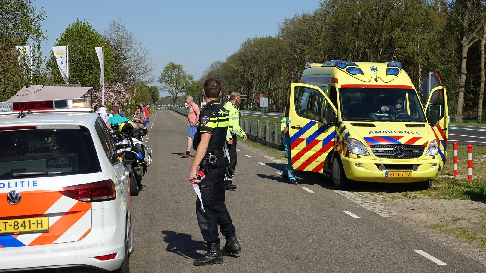 Twee gewonden bij aanrijding in Hardenberg.