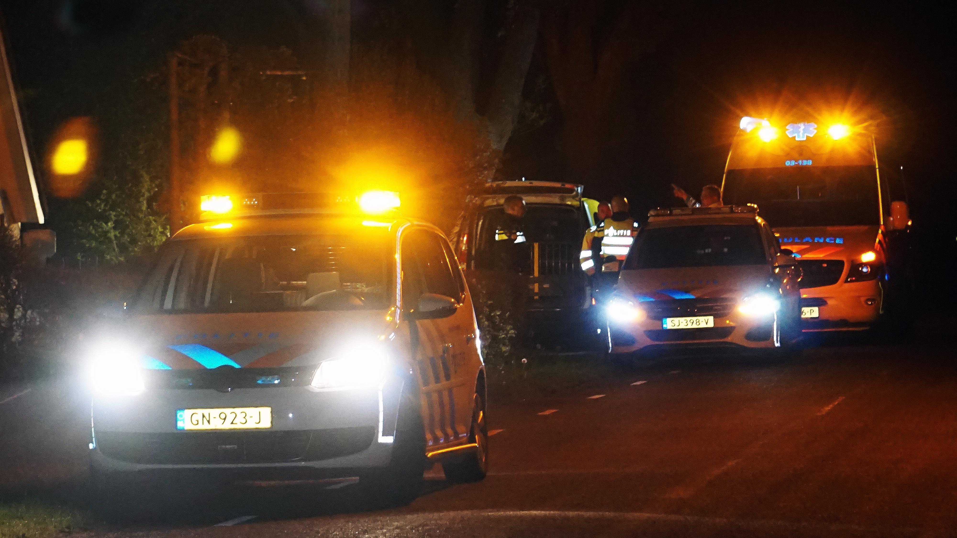 Vrouw gewond bij ongeluk De Krim, bestuurder rijdt door.