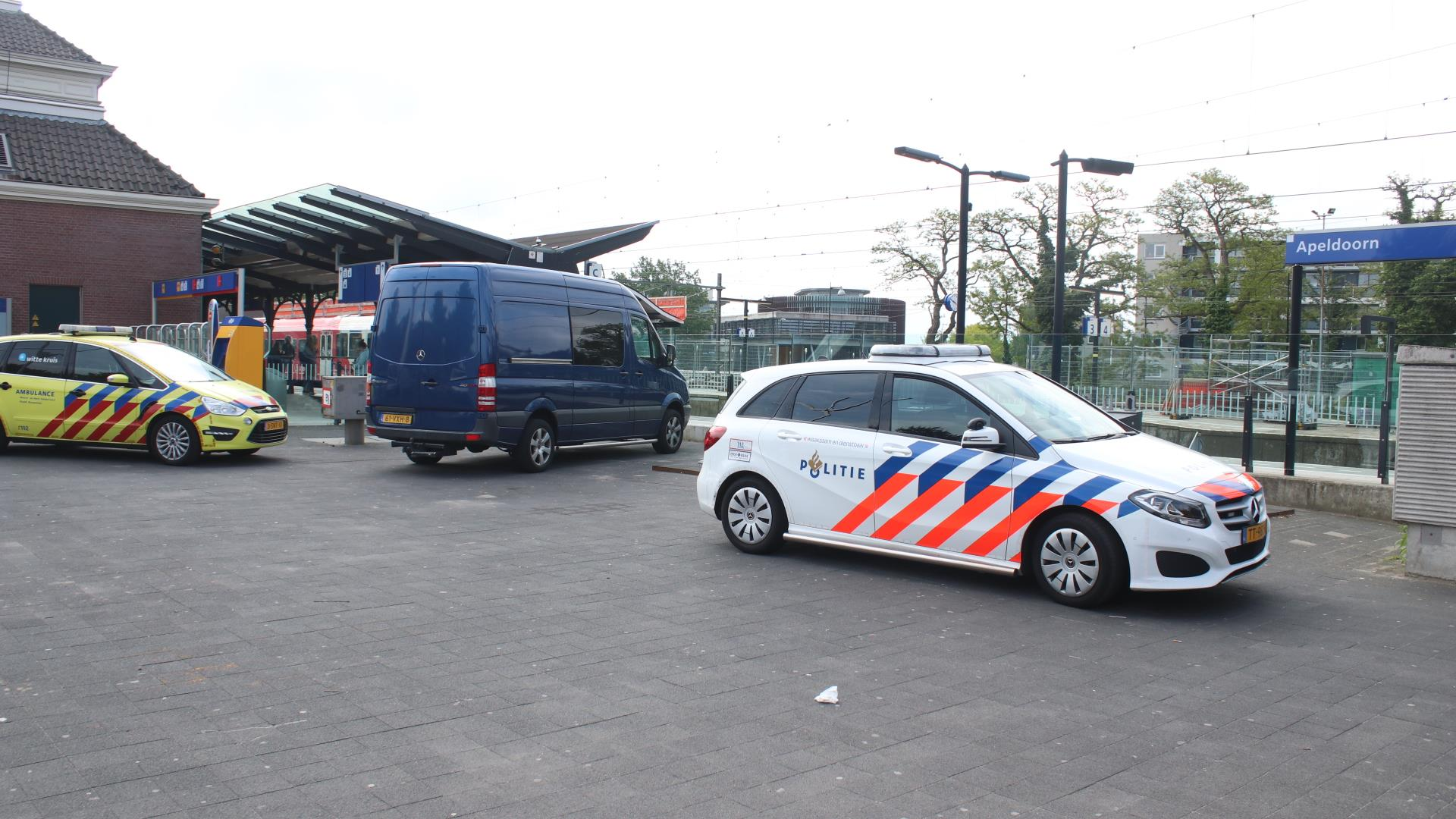 Hele ochtend geen treinen tussen Amersfoort en Deventer na aanrijding.