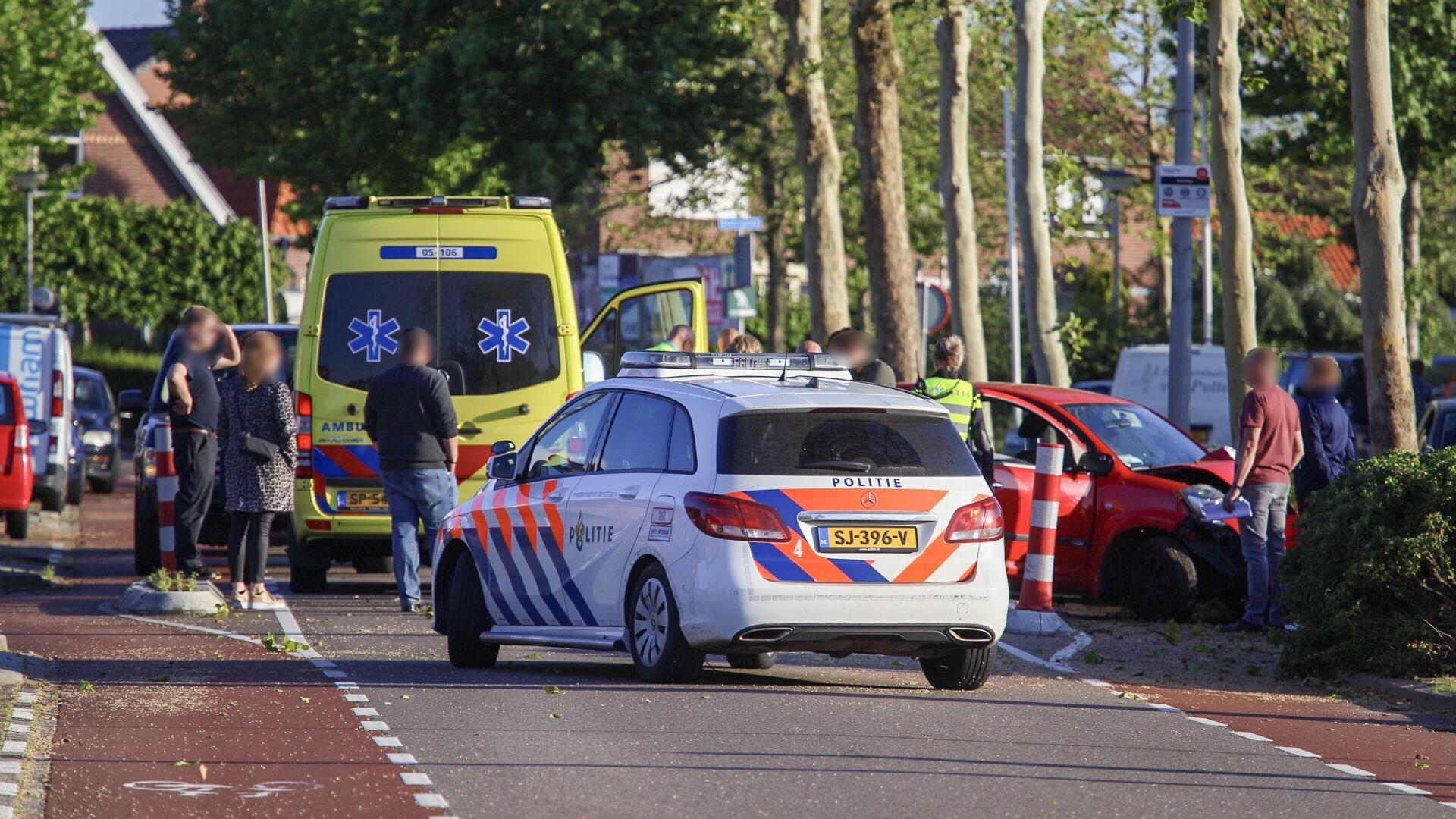 Man naar ziekenhuis na eenzijdig ongeval in Rijssen.