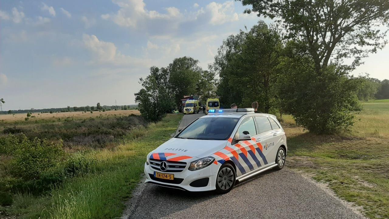 Traumaheli opgeroepen voor ongeval met wielrenner in Hoge Hexel.