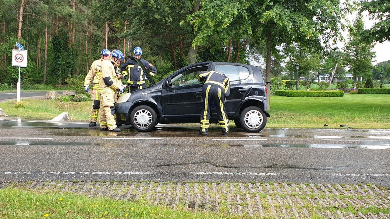 Gewonde bij ongeluk in Bornerbroek.