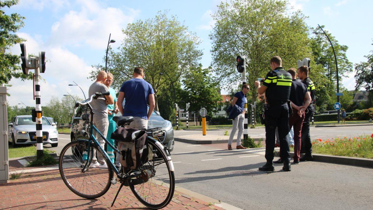 Fietser gewond bij aanrijding in Zwolle.