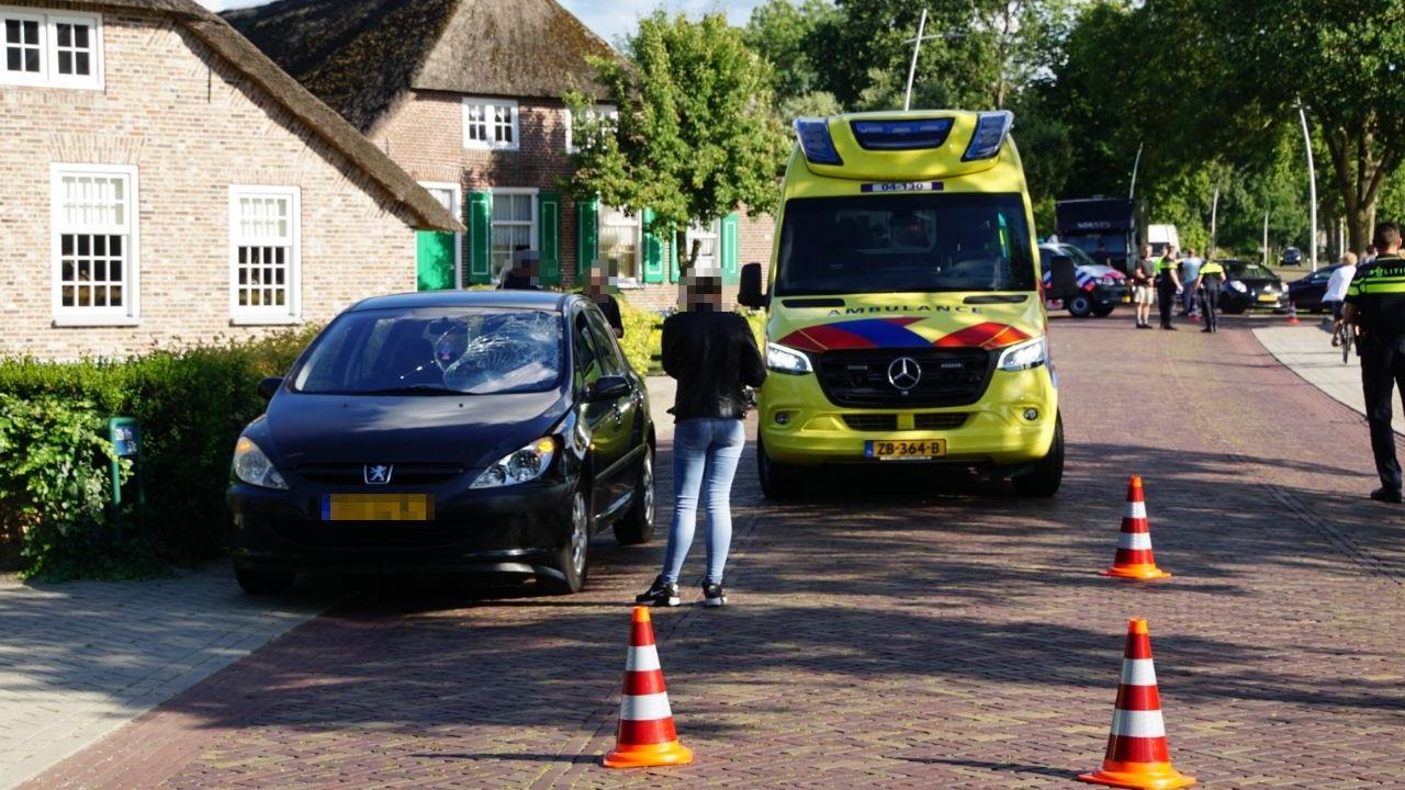 Automobilist mee naar politiebureau na ongeval in Rouveen.