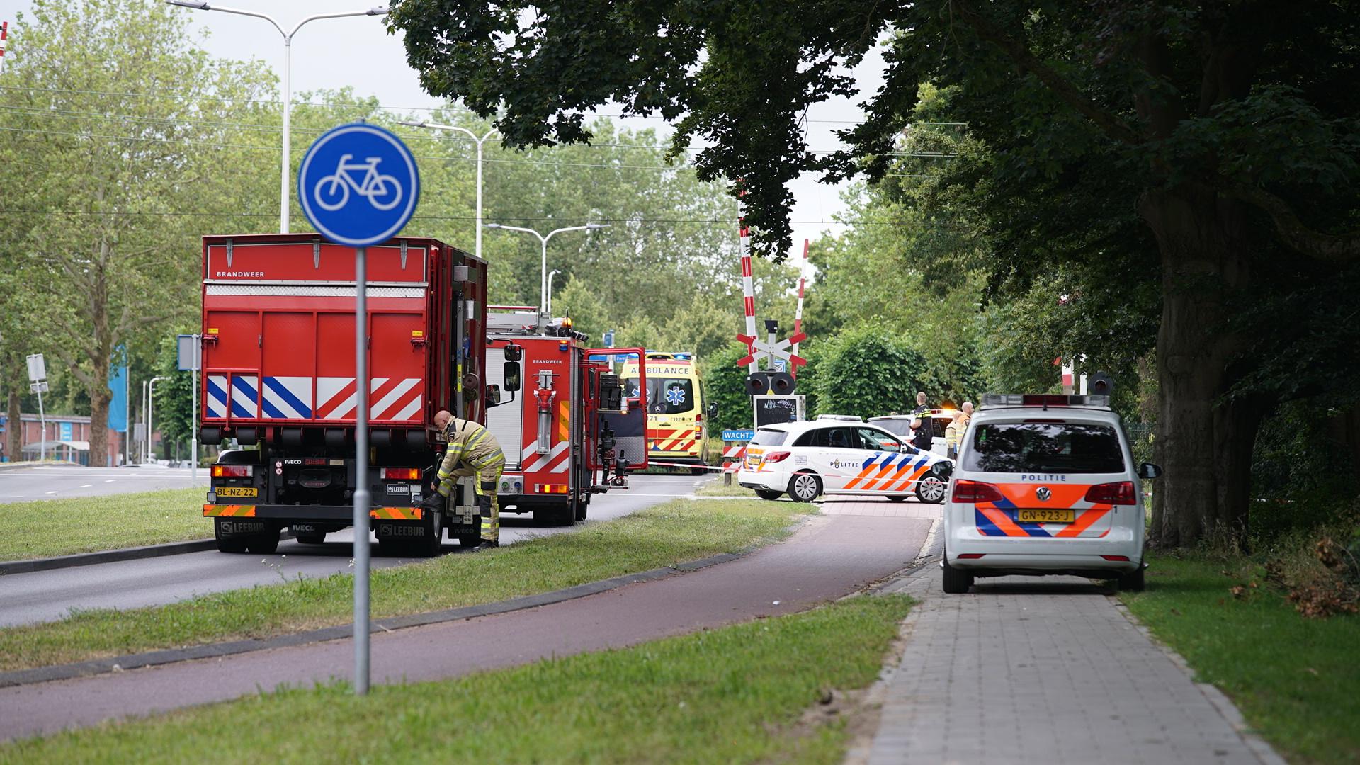 Treinverkeer tussen Deventer en Olst weer hervat na aanrijding.