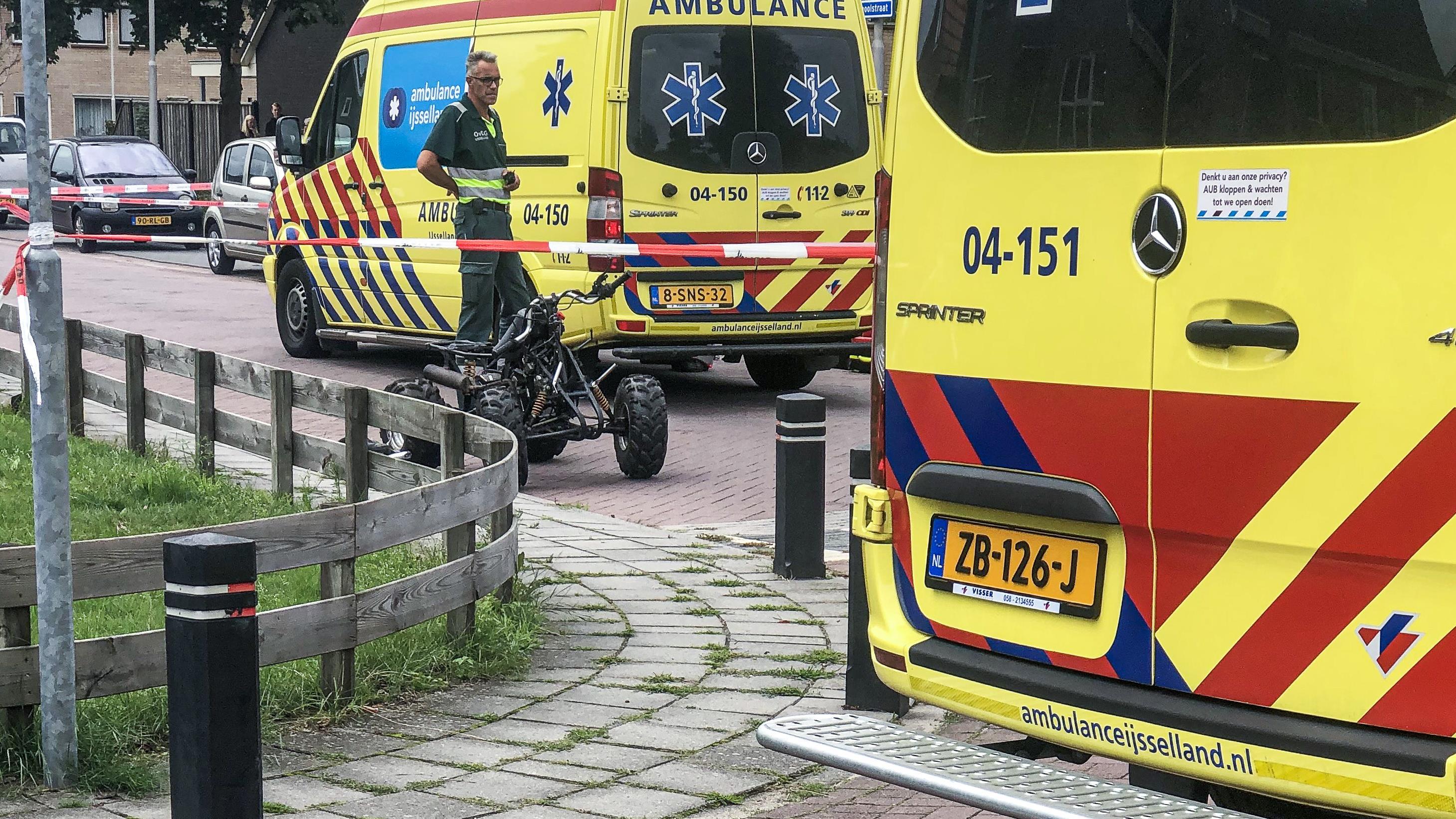 Man uit Sibculo overleden na ongeluk in Kloosterhaar.