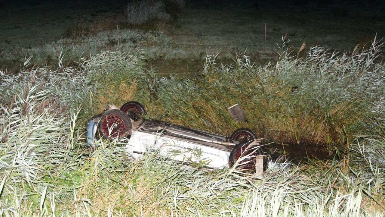 Drie gewonden bij ongeluk op N375 bij Wanneperveen.