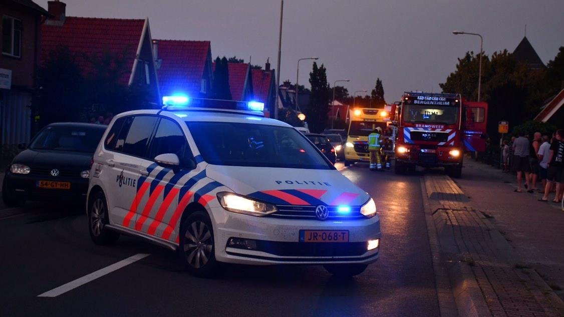 Motorrijder zwaargewond door botsing met auto op N341 in Kloosterhaar.