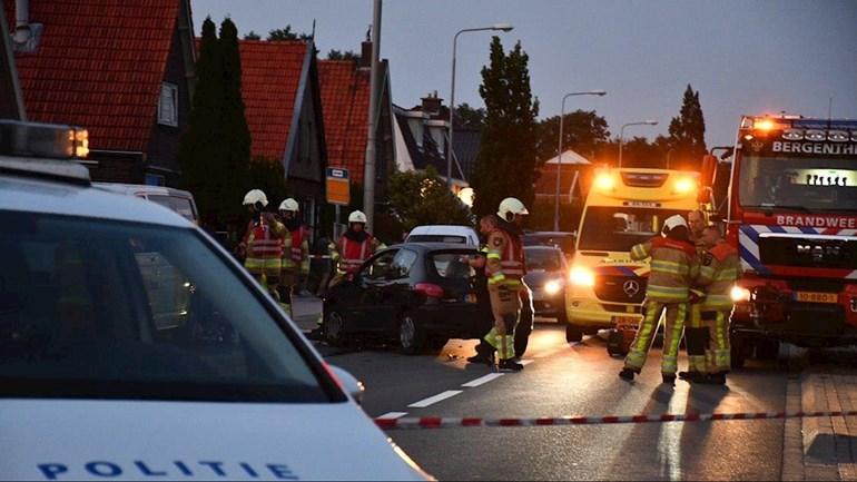 Inzittenden van auto namen de benen na aanrijding met motor in Kloosterhaar.