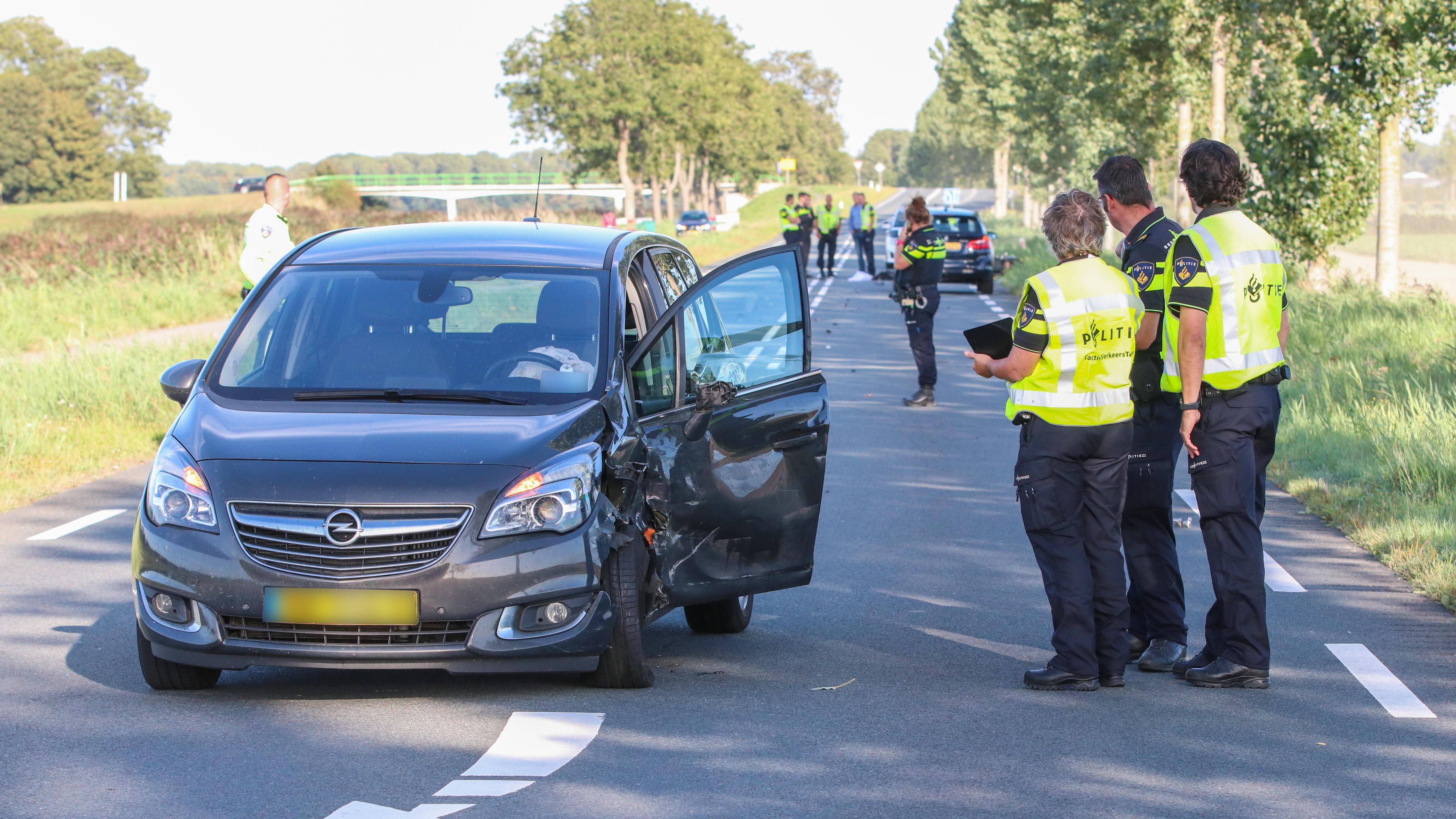 Motorrijder uit Kampen zwaargewond bij ongeluk.