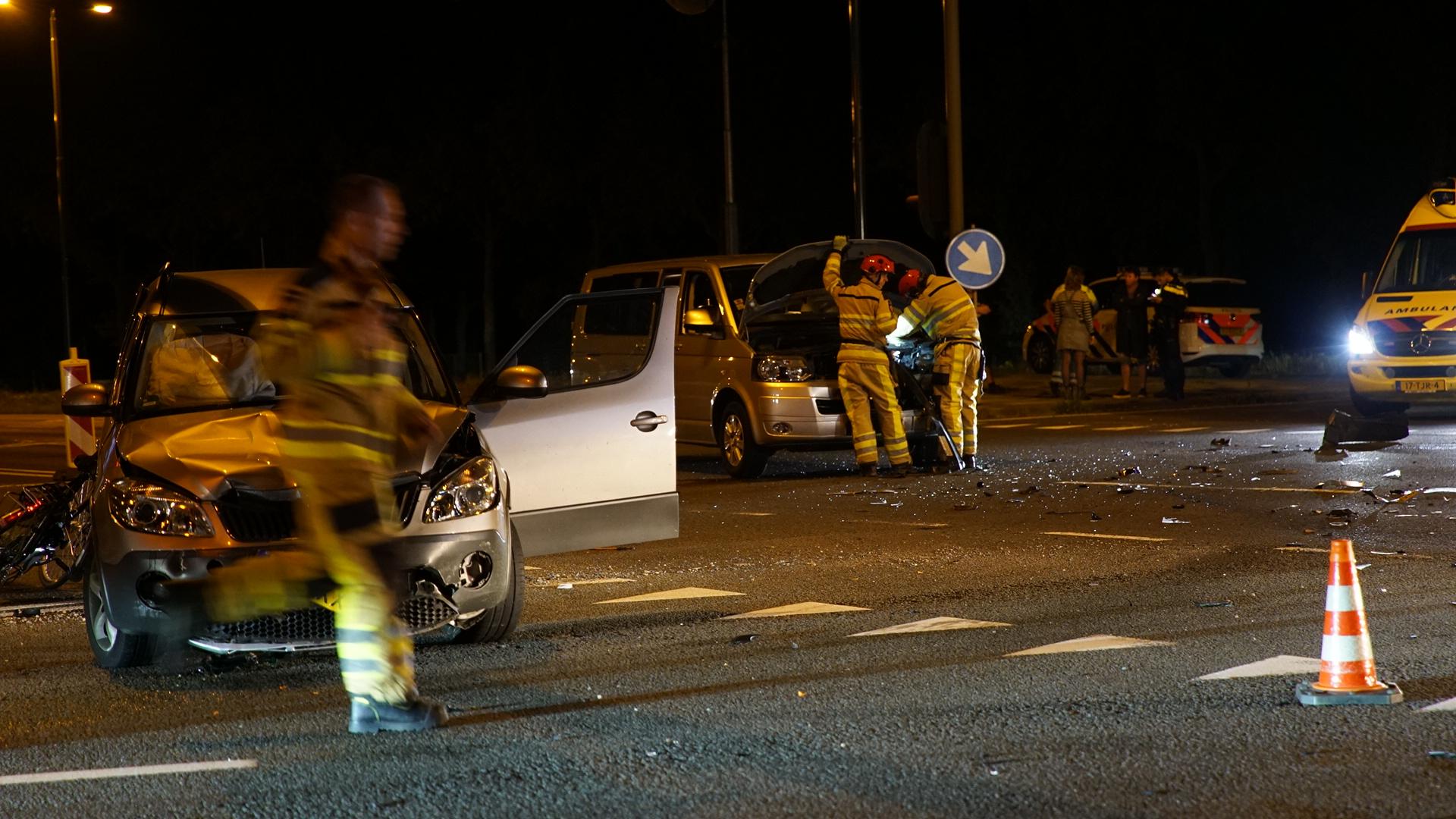 Gewonde bij ongeluk op N348 bij Deventer.