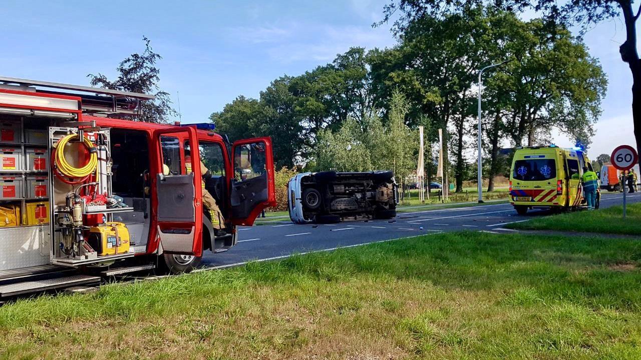 Vrouw en kind gewond bij ernstig ongeval in Fleringen.