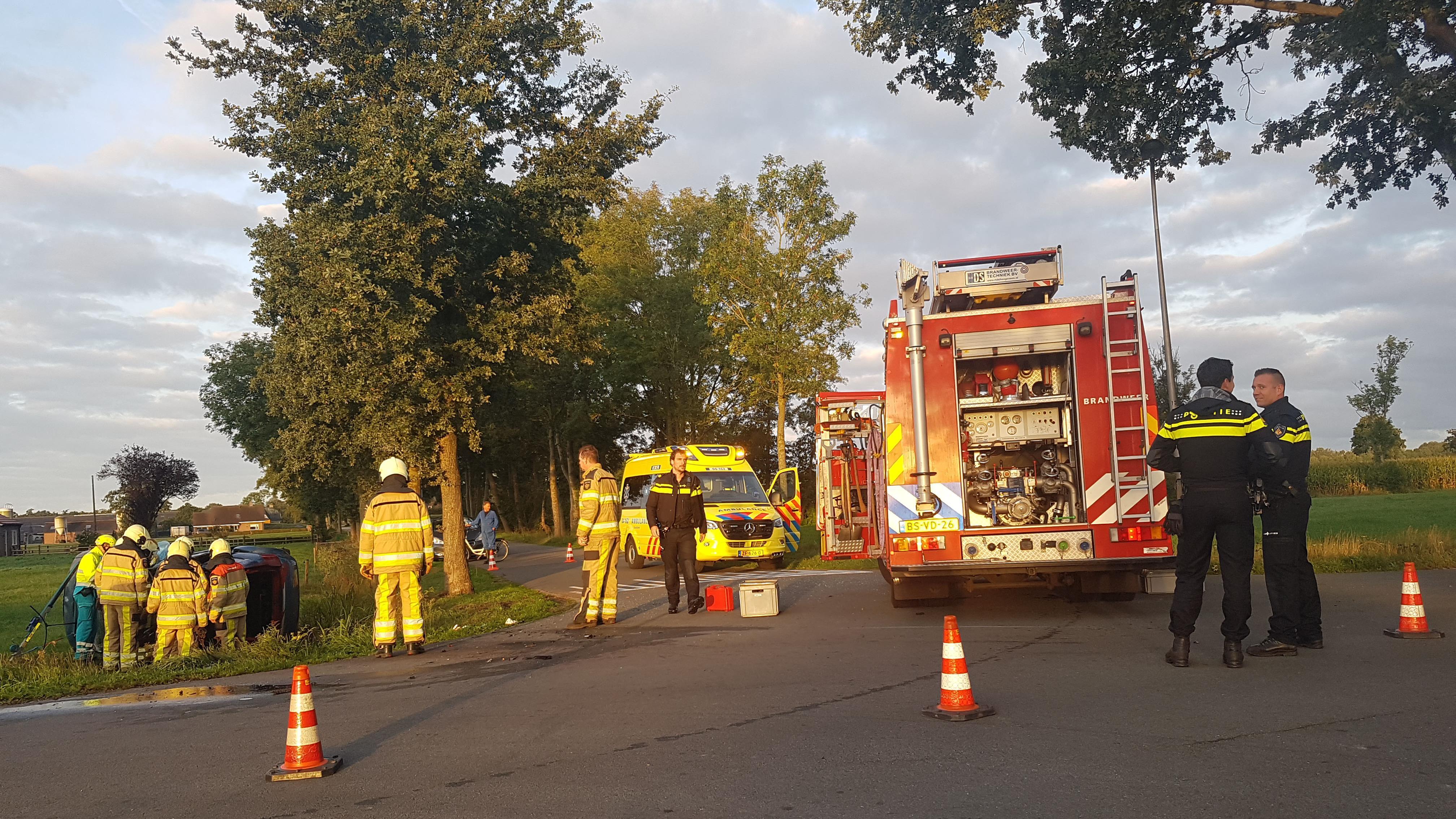 Ernstig ongeval in Twello: gewonde met spoed naar ziekenhuis.