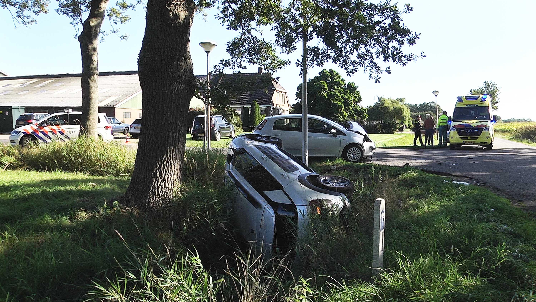 Gewonde door ongeluk in Vinkenbuurt.