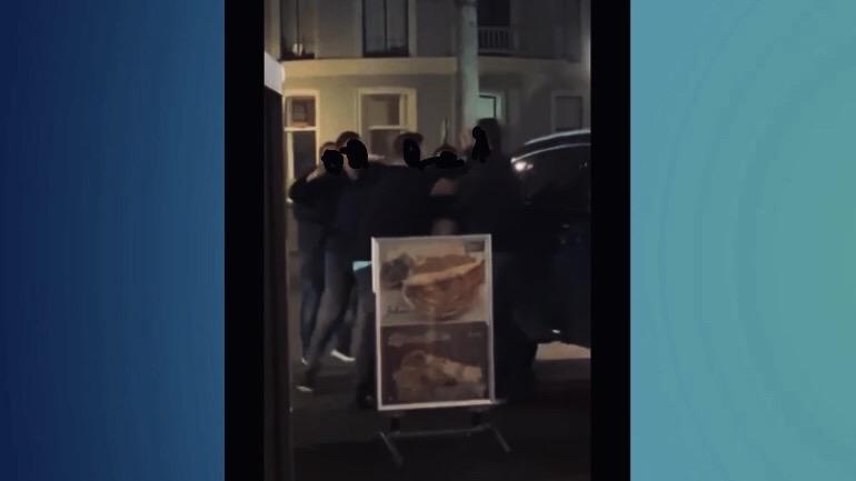 Ruzie voorafgaand aan Deventer terrasaanrijding is gefilmd.