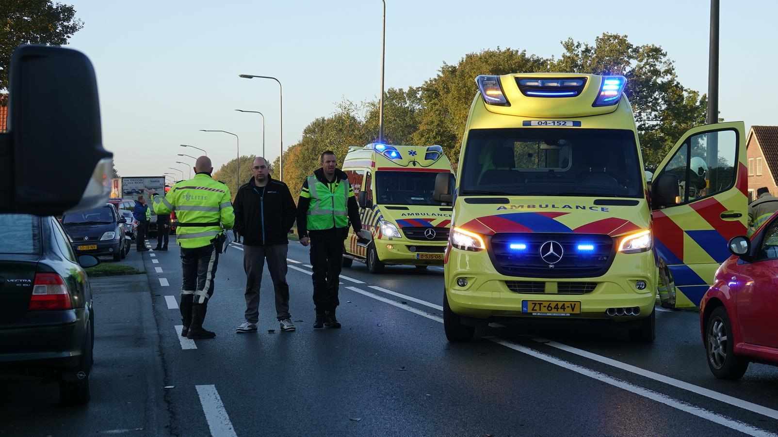 Fietser verongelukt bij aanrijding op Coevorderweg in De Krim.